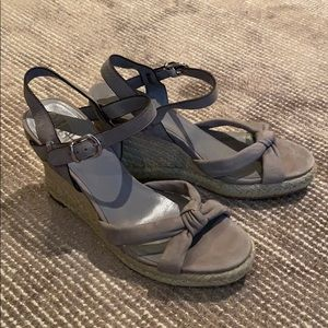 Cole Haan x Nike Air Espadrille Wedge Sandals